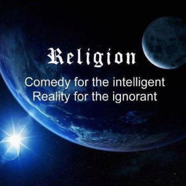 Religion is a joke