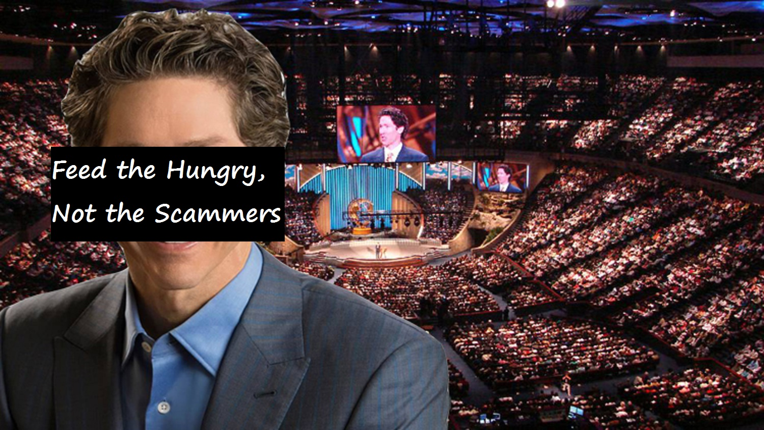 Feed the Hungry, Not the Scammers