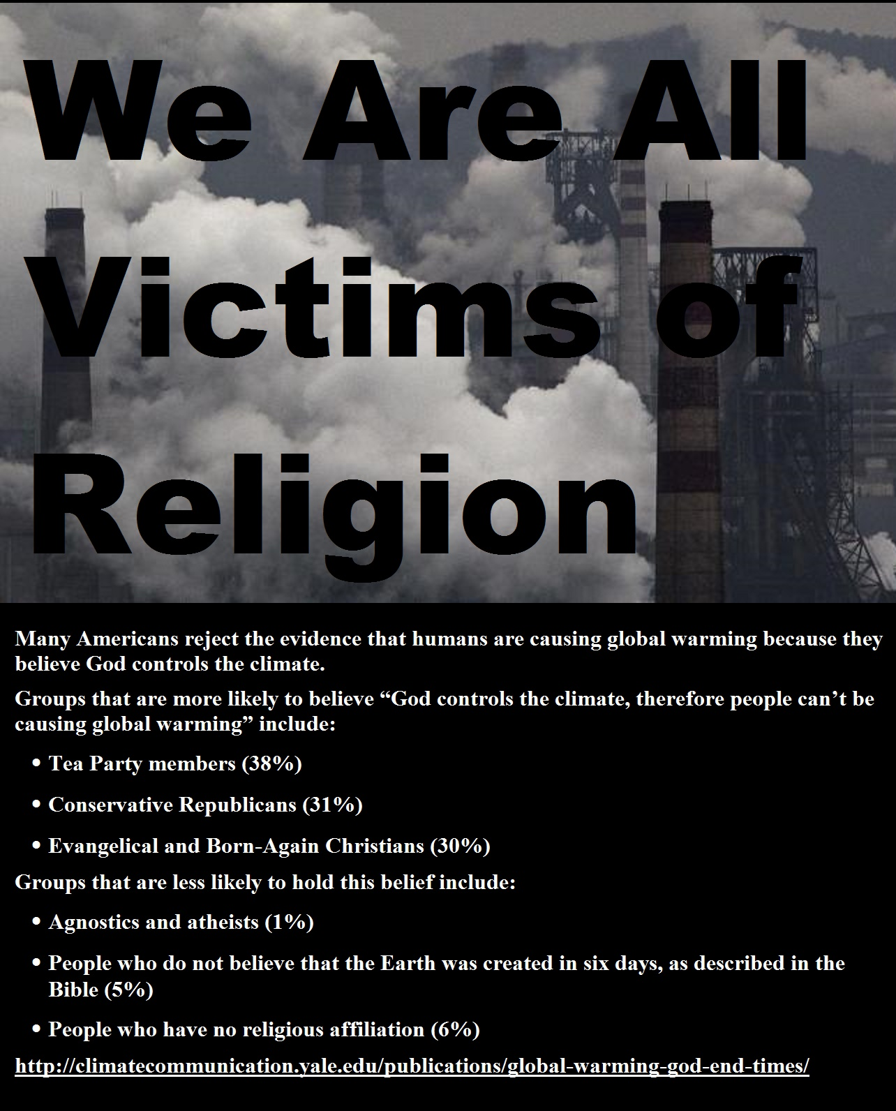 We Are All Victims of Religion